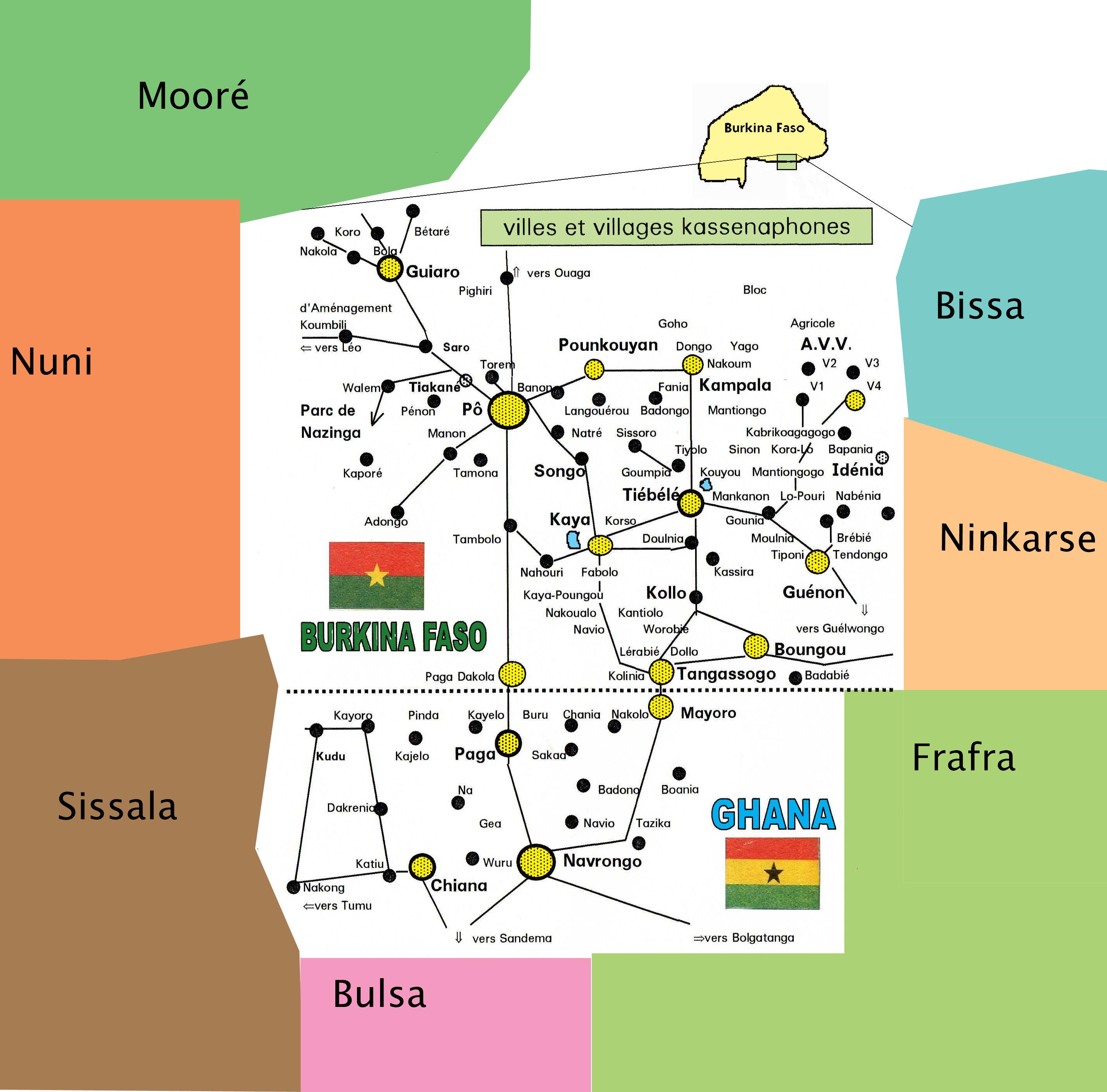 pays kassena voisins